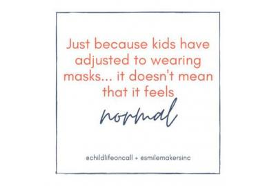 """How to Help Children Feel """"Normal"""" in Their Masks"""