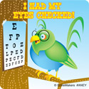 Eye Care Stickers