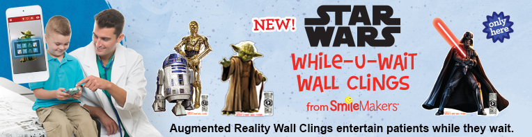 Augmented Reality While-U-Wait Wall Clings banner