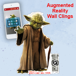 Augmented Reality While-U-Wait Wall Clings
