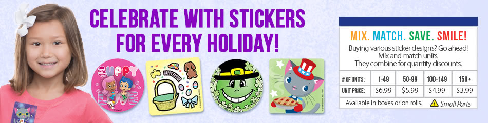 Holiday Stickers banner
