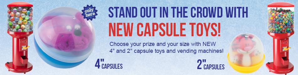 Capsule Vending Machines banner