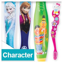 Character Toothbrushes