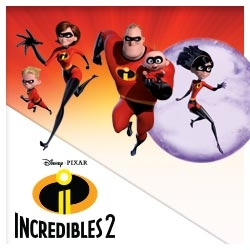 Incredibles Stickers