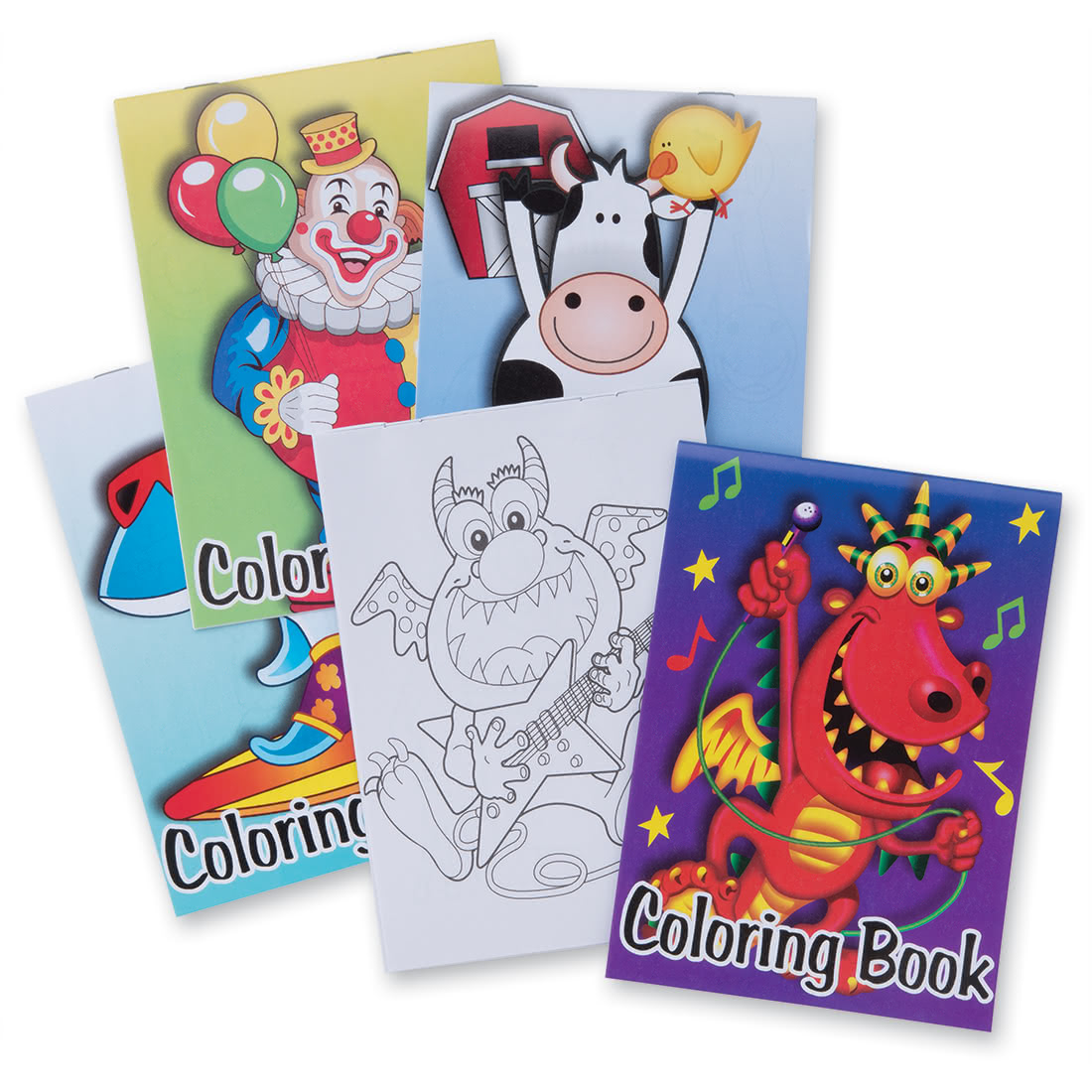 Coloring Books & Activity Sheets