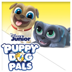 Puppy Dog Pals Stickers