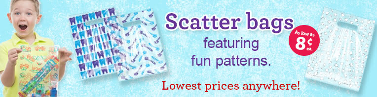 Scatter Take Home Bags banner