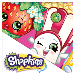 Mickey Mouse Stickers; Shopkins Stickers