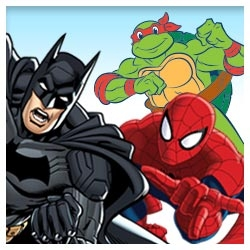 Superhero Stickers