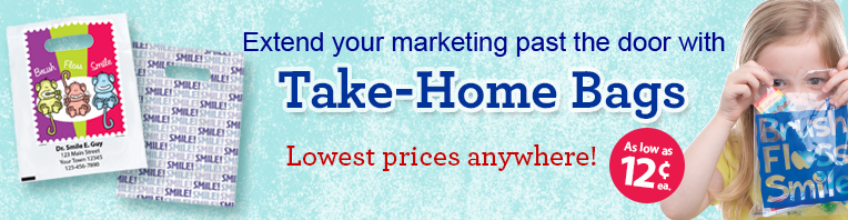 Take Home Bags banner