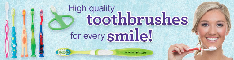Toothbrushes banner