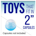 "Toys that fit in 2"" Capsules"