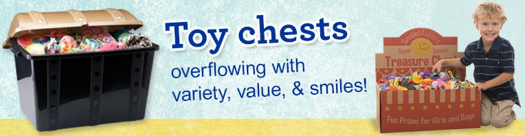 Toy Treasure Chests banner