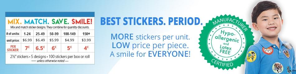 Disney Princess Stickers banner