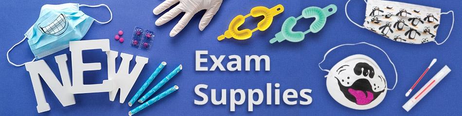 Dental Exam Supplies banner