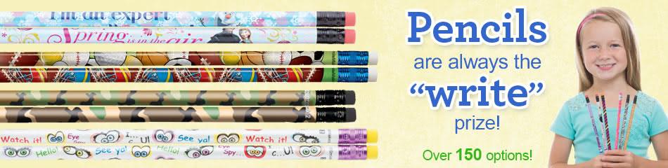 Pencils banner