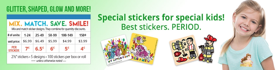 Shaped Stickers