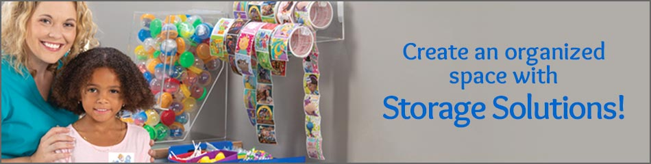 Toy & Sticker Storage