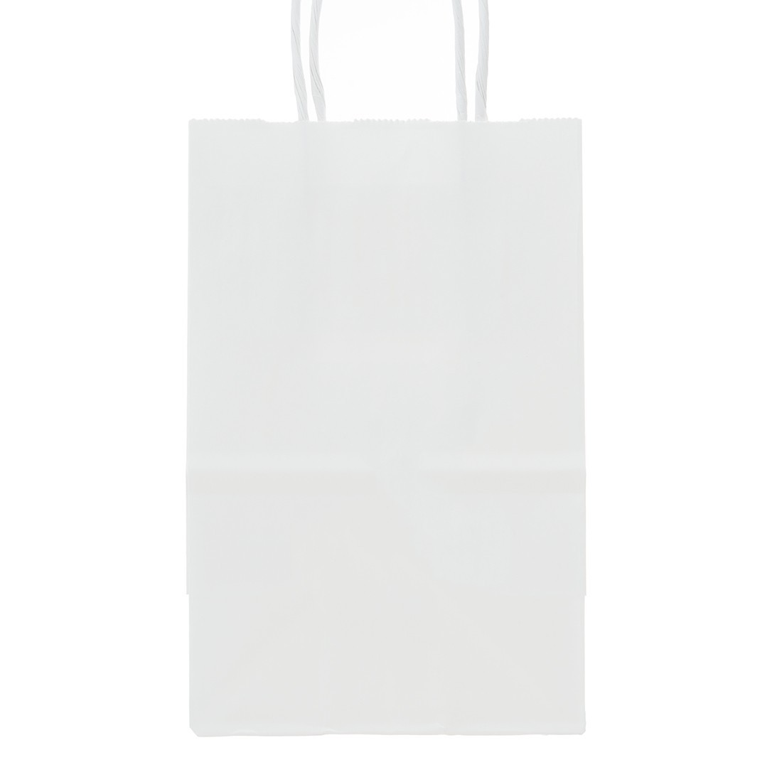 Custom White Paper Bags Small