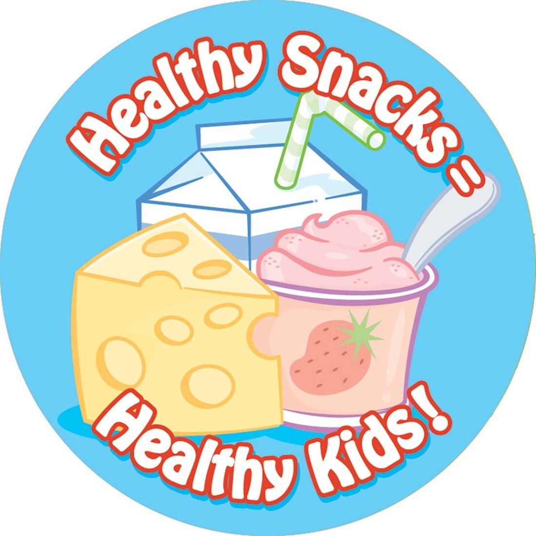 Healthy Snacks Stickers