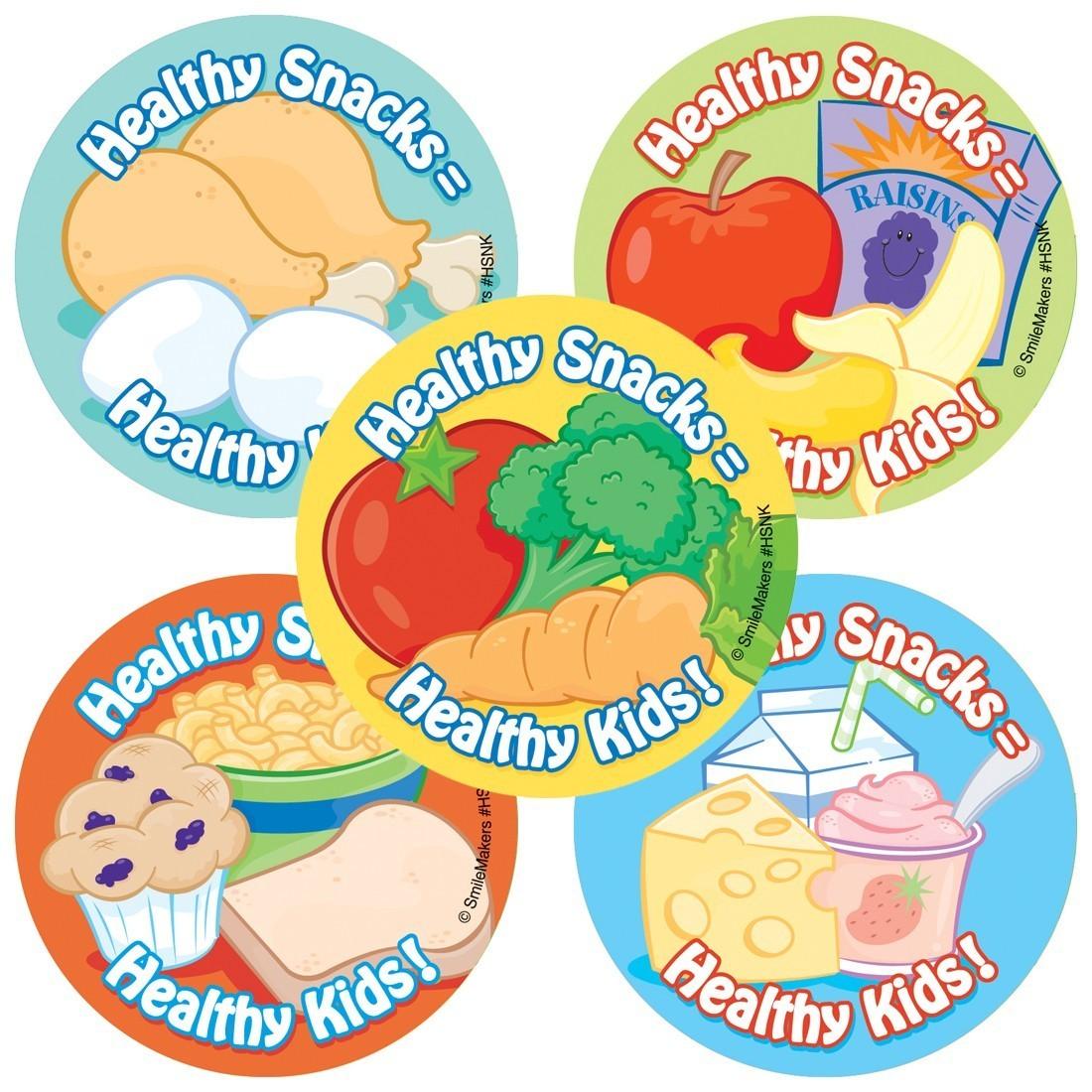 Healthy Snacks Stickers Image Slider 0
