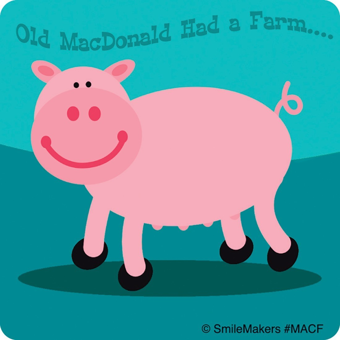 Farm Animals Stickers - Sticker Assortments from SmileMakers