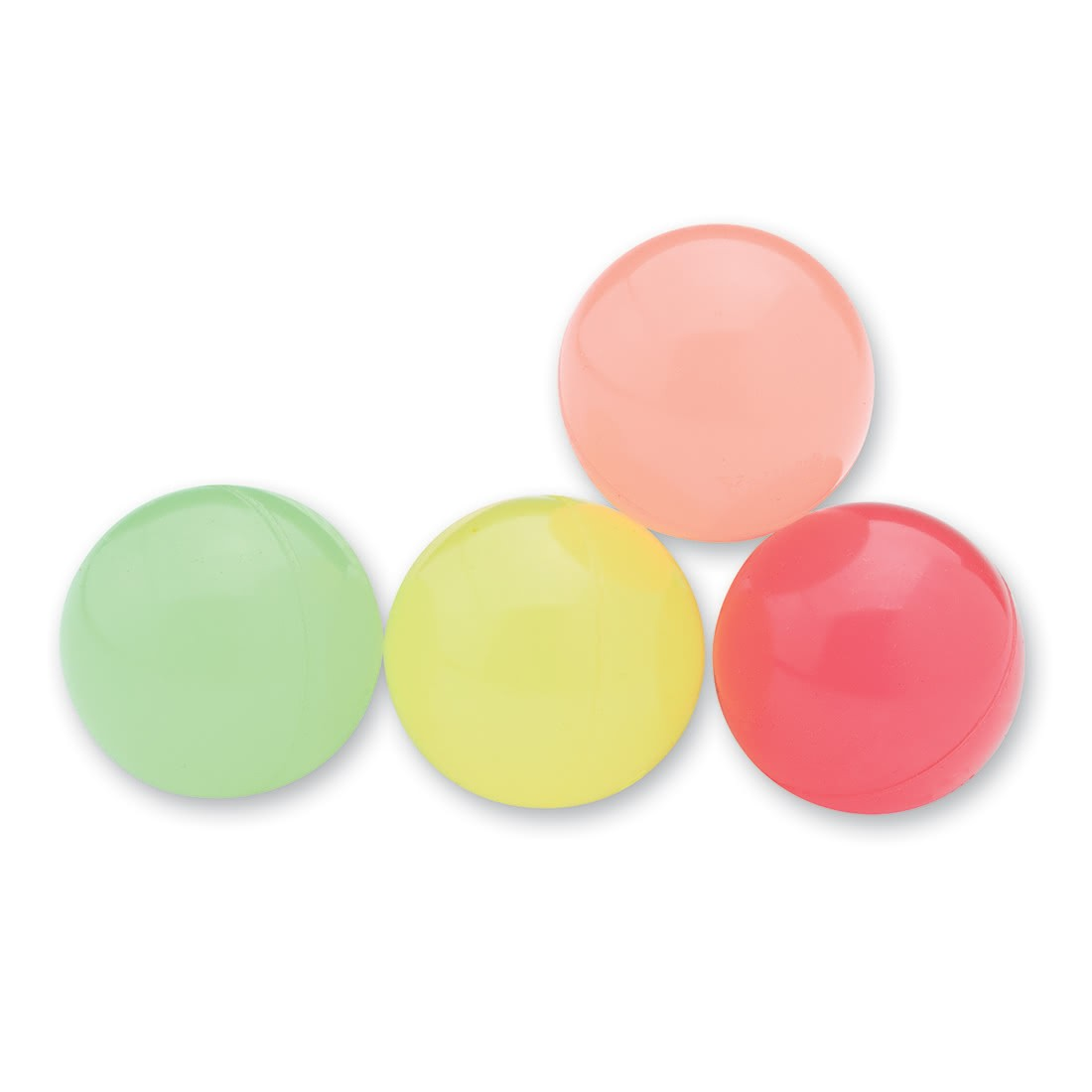 29mm Neon Glow in the Dark Bouncing Balls [image]