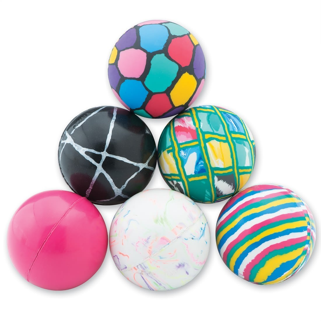 43mm Giant Assorted Bouncing Balls [image]