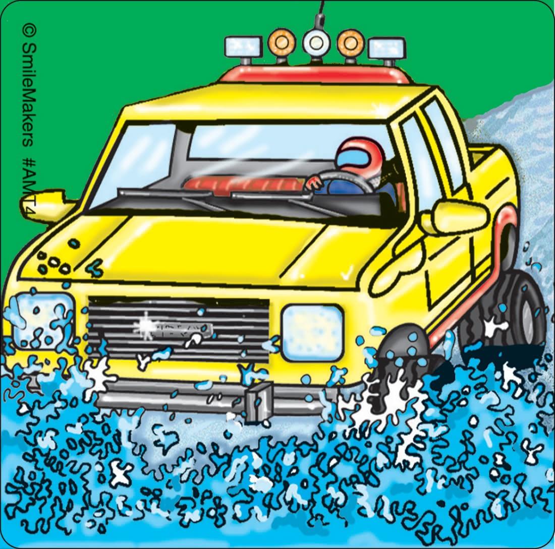 Monster Trucks Stickers                            [image]