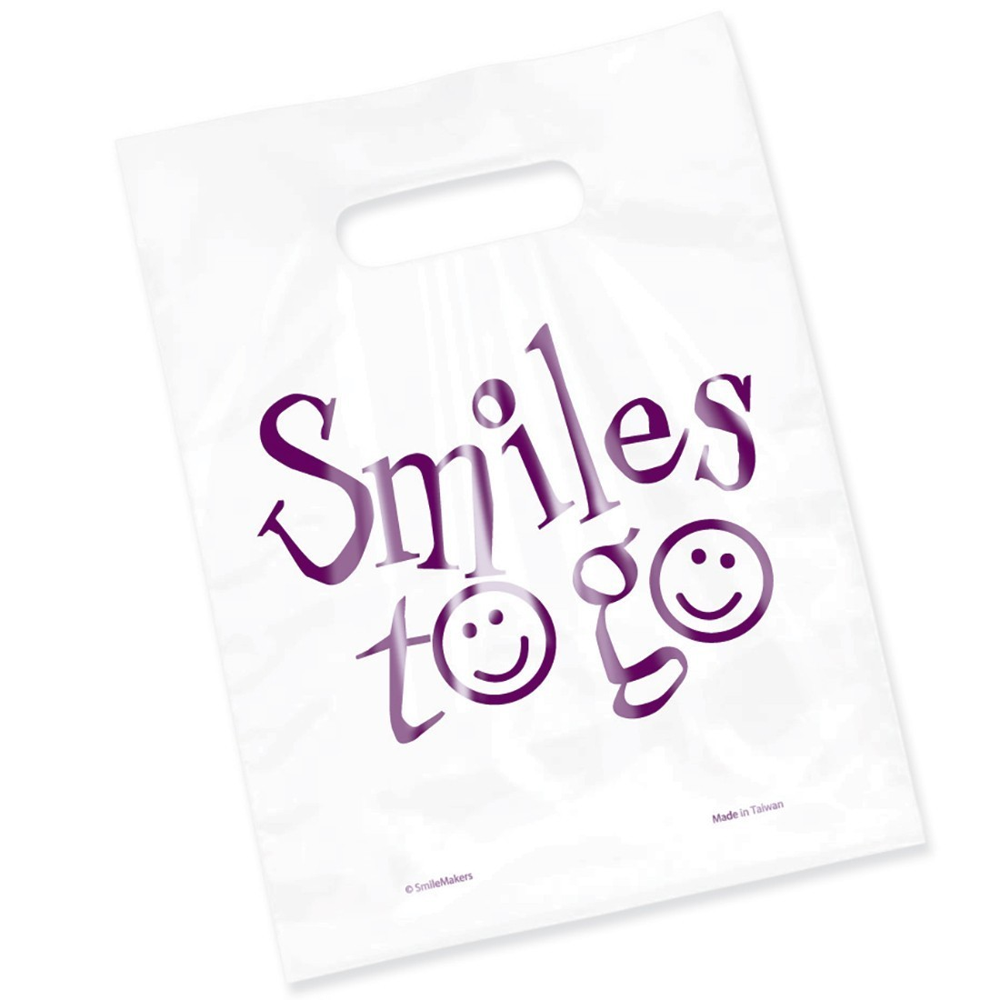 Clear Smiles To Go Bags                            [image]