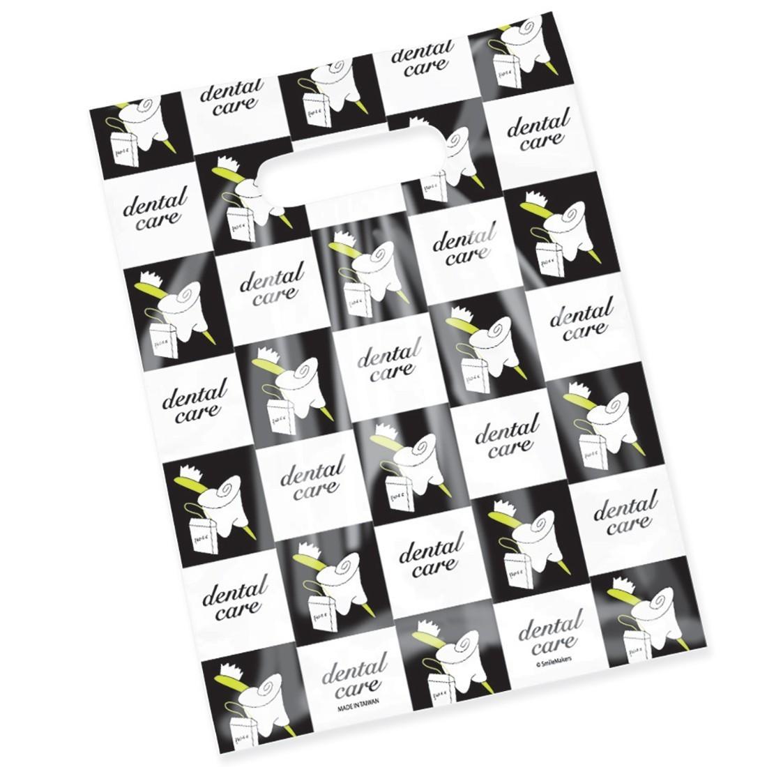Scatter Print Dental Care Bags [image]