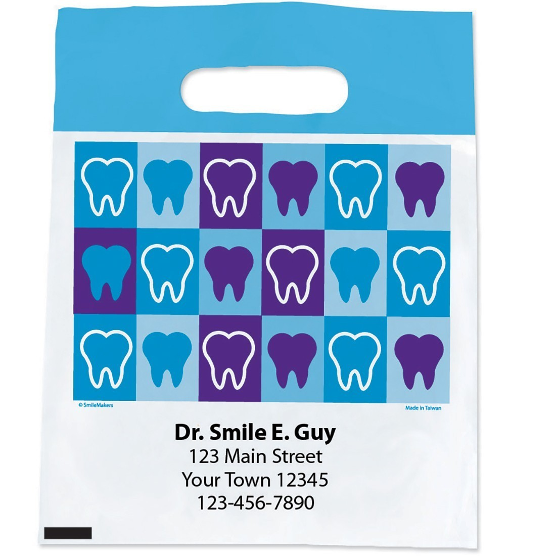 Custom Teeth Block Bags [image]