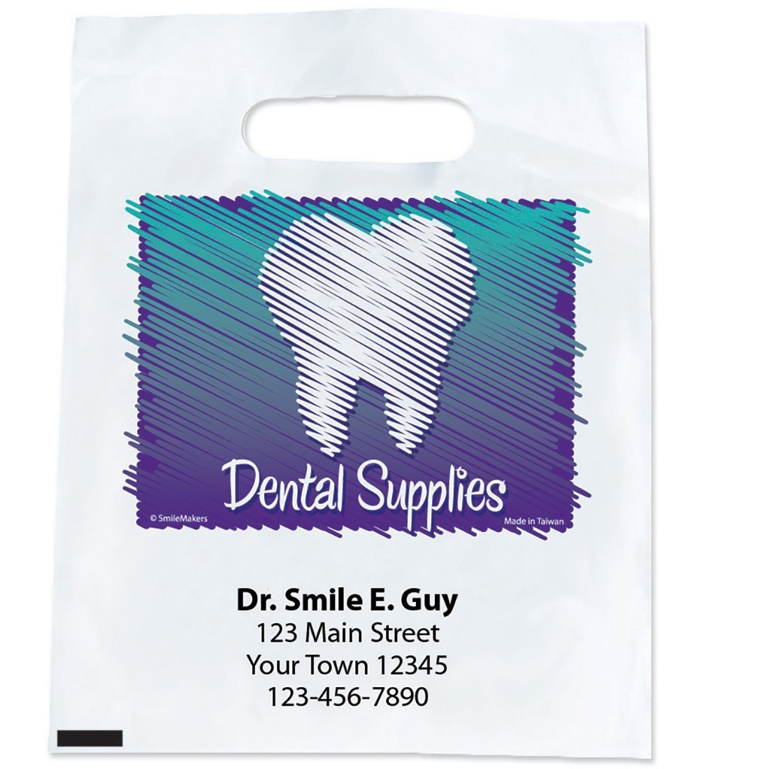 Custom Sketch Dental Supply Bags                   [image]