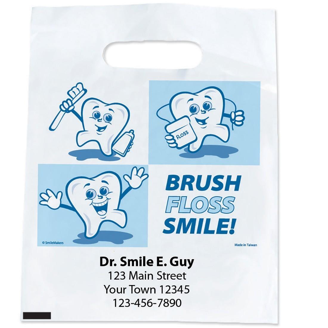 Custom Dancing Tooth Bags [image]