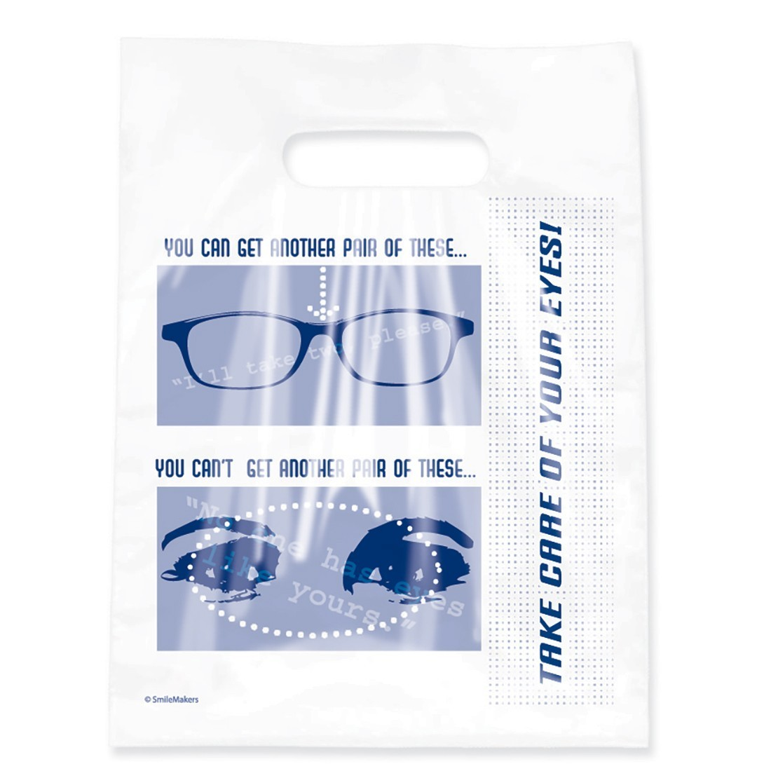 Take Care of Your Eyes Clear Bags                  [image]