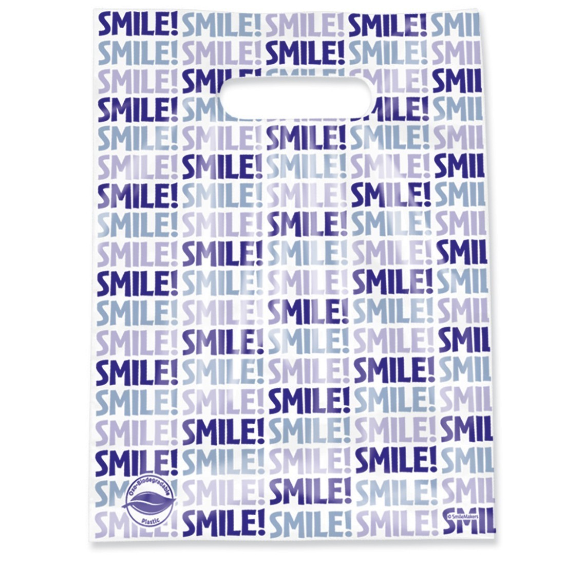 Scatter Oxobiodegradable Smile Bags [image]