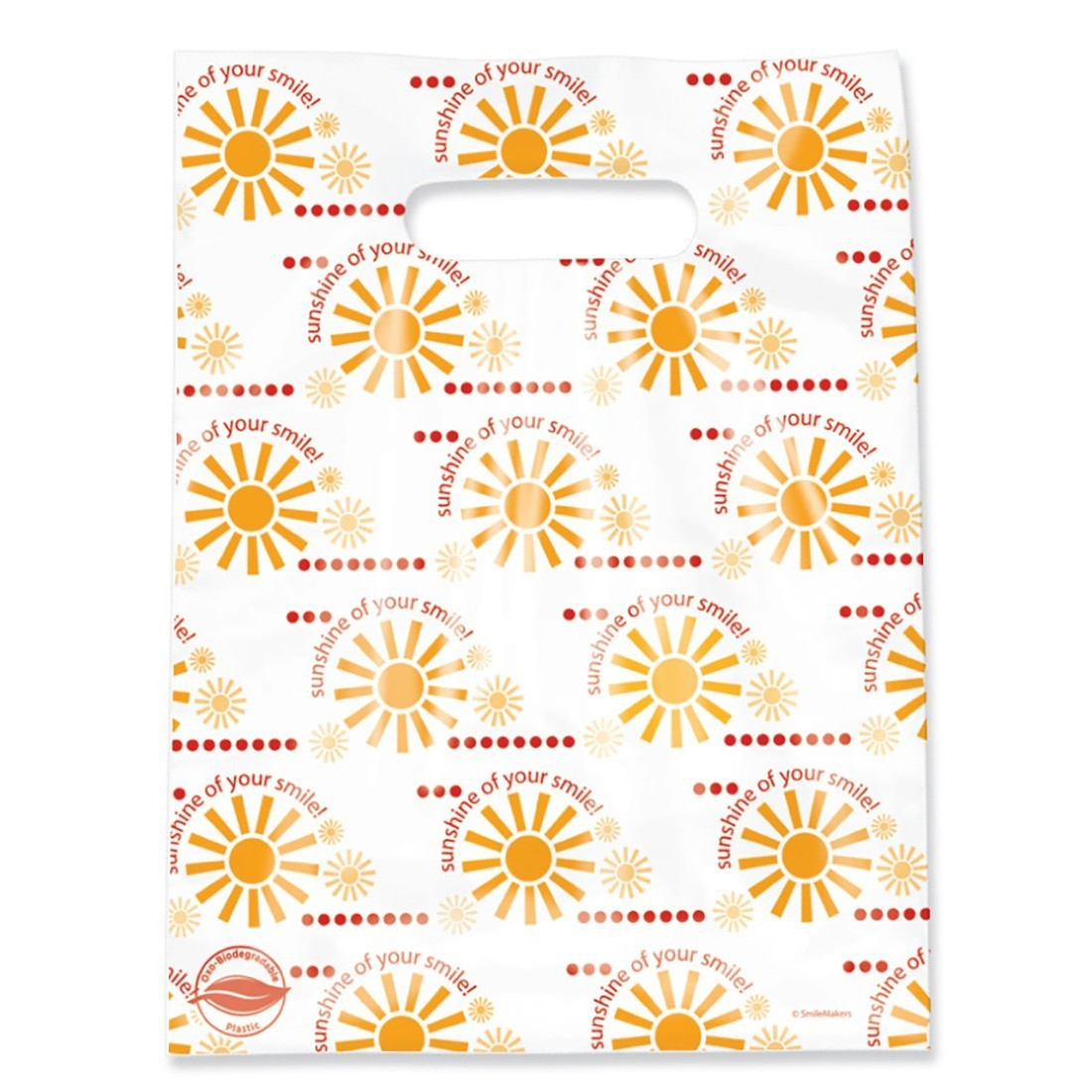 Scatter Oxobiodegradable Sunshine Smile Bags [image]