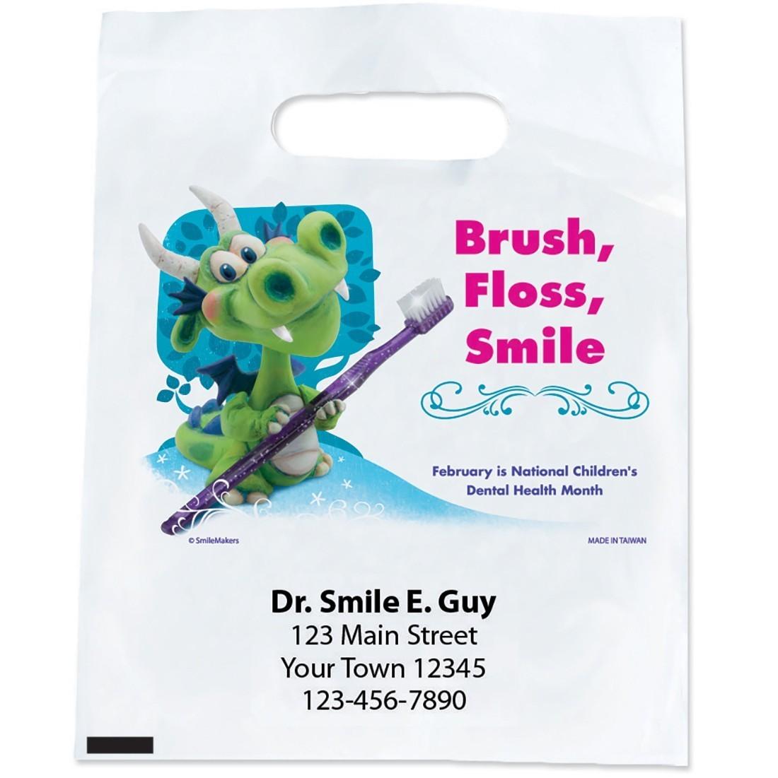 Custom Dental Health Month Bags [image]
