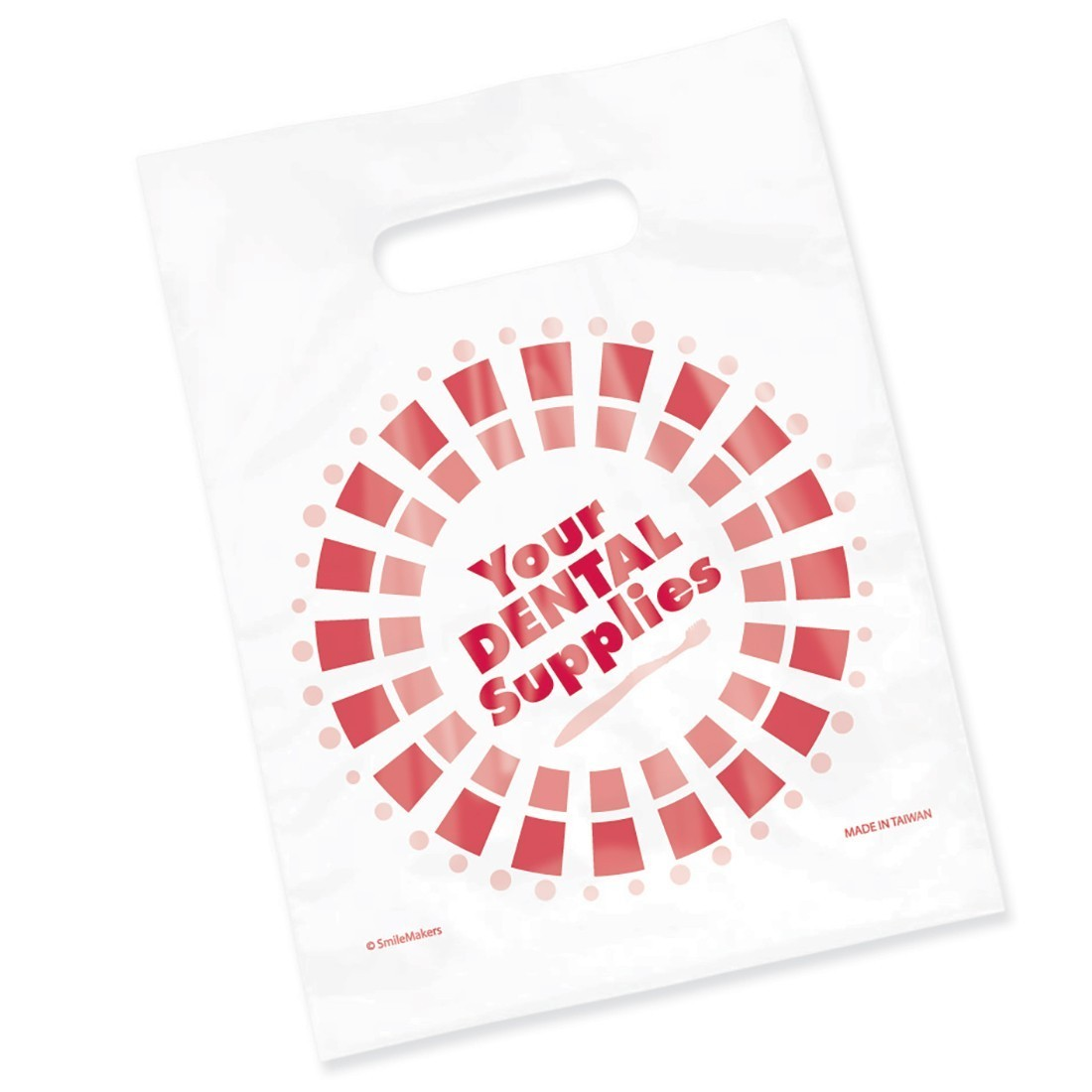 Clear Dental Supplies Circle Bags                  [image]