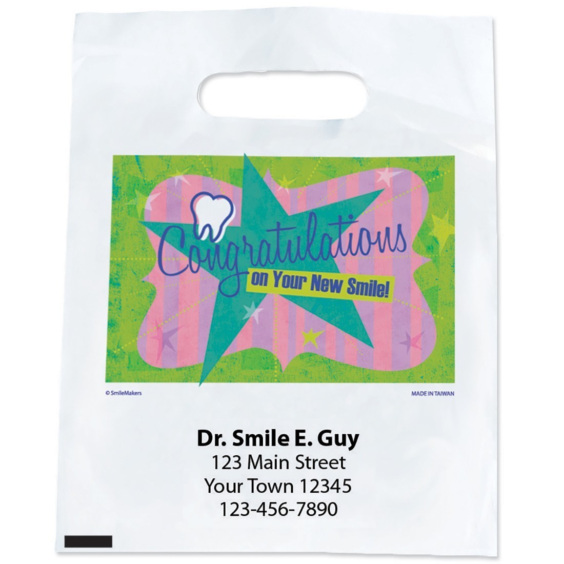 Custom Congratulations New Smile Bags [image]