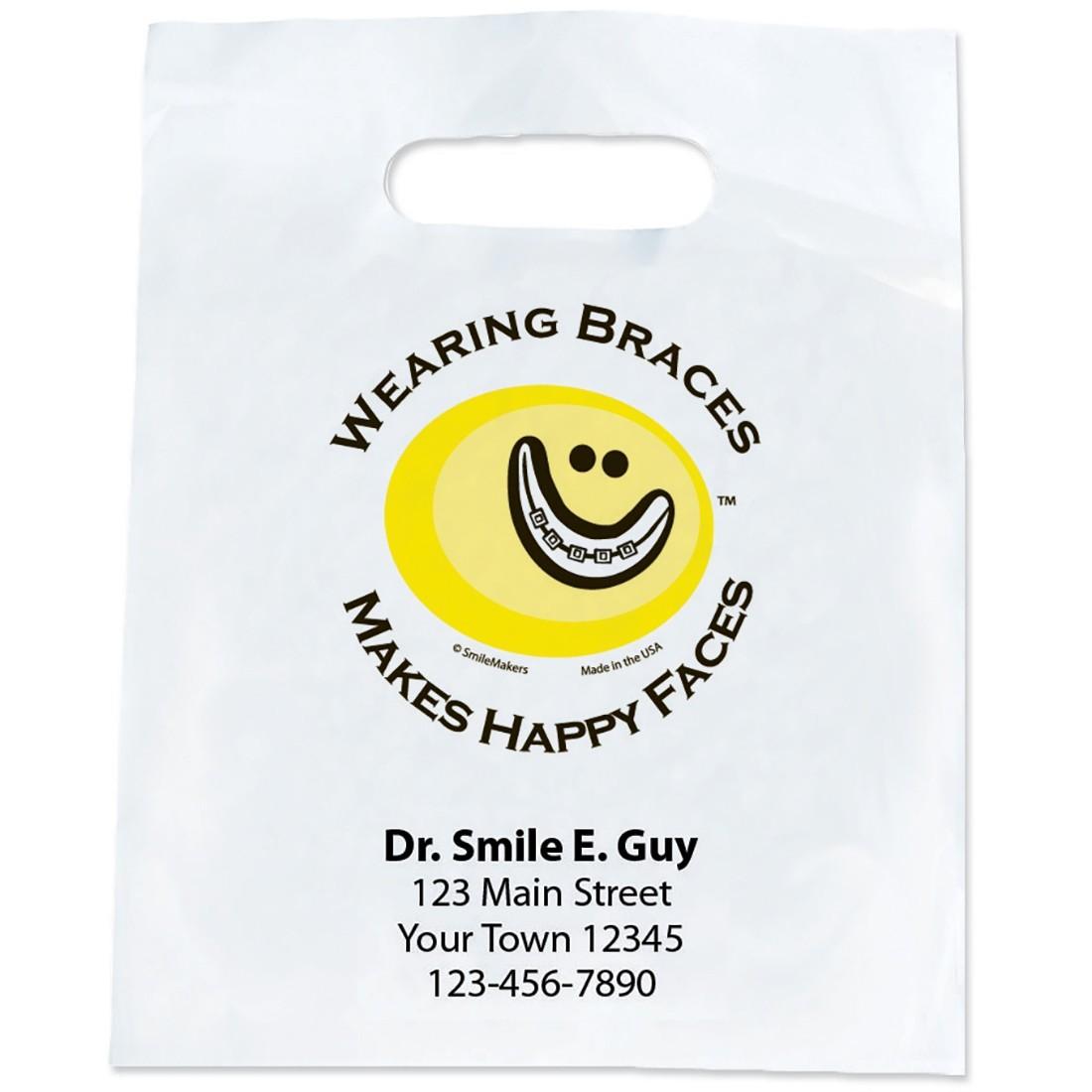 Custom Braces + Happy Faces Bags                   [image]