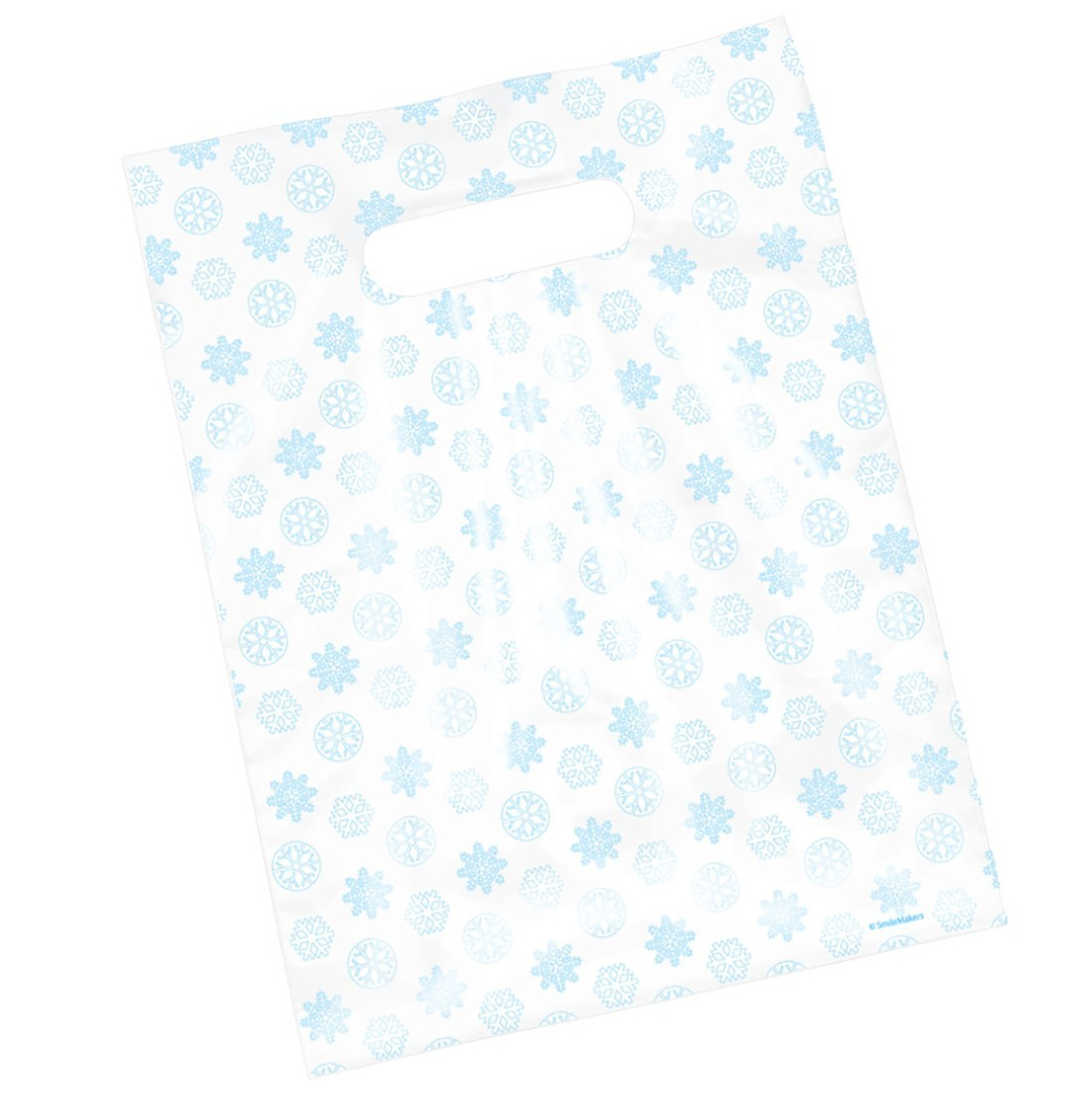 Snowflakes Scatter Print Bags [image]