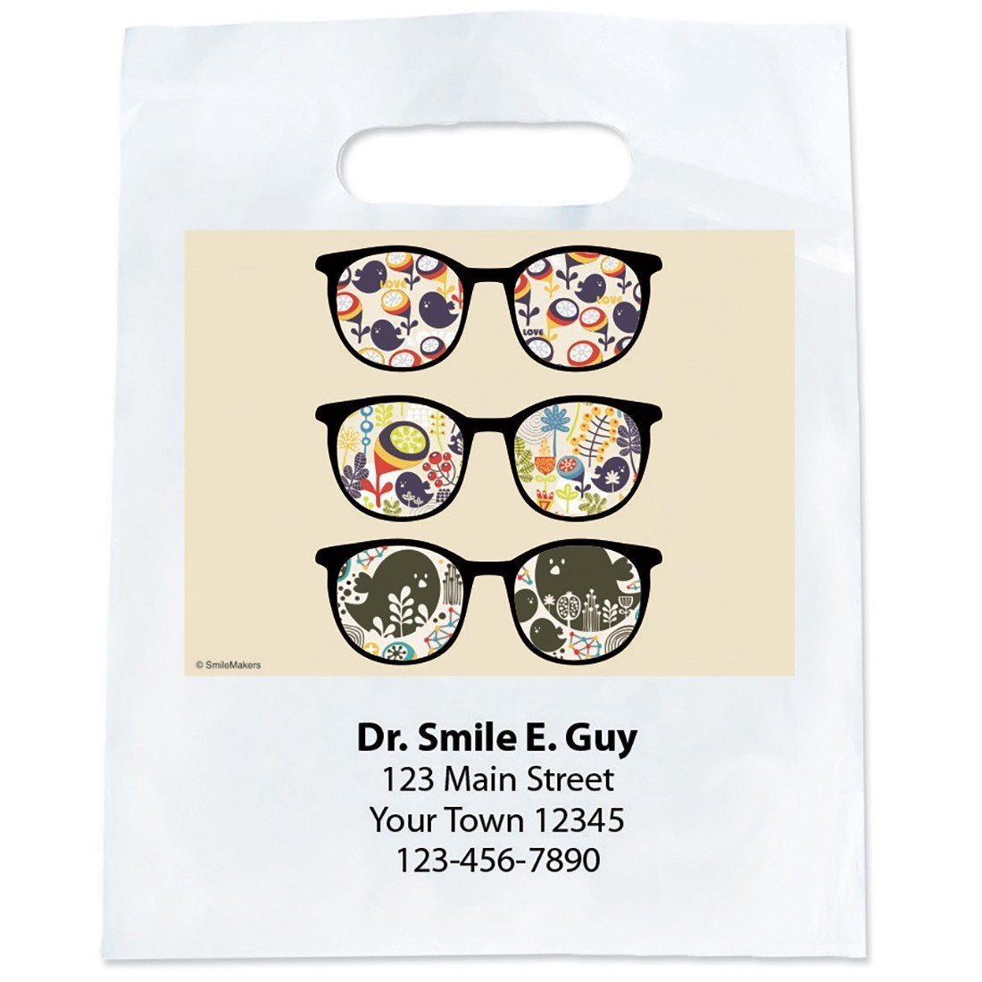Custom Design Lenses Glasses Bags                  [image]