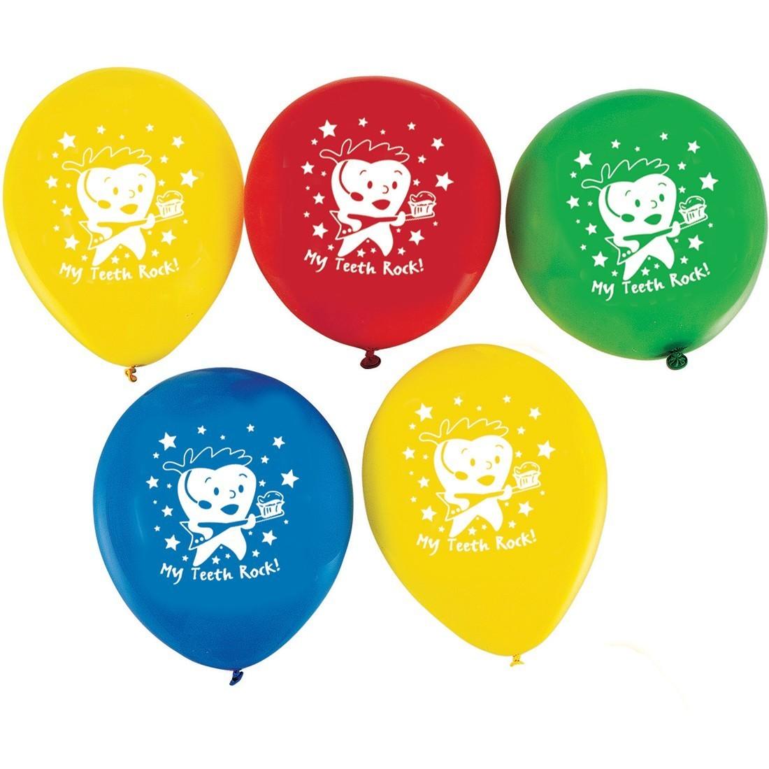 My Teeth Rock Latex Balloons [image]