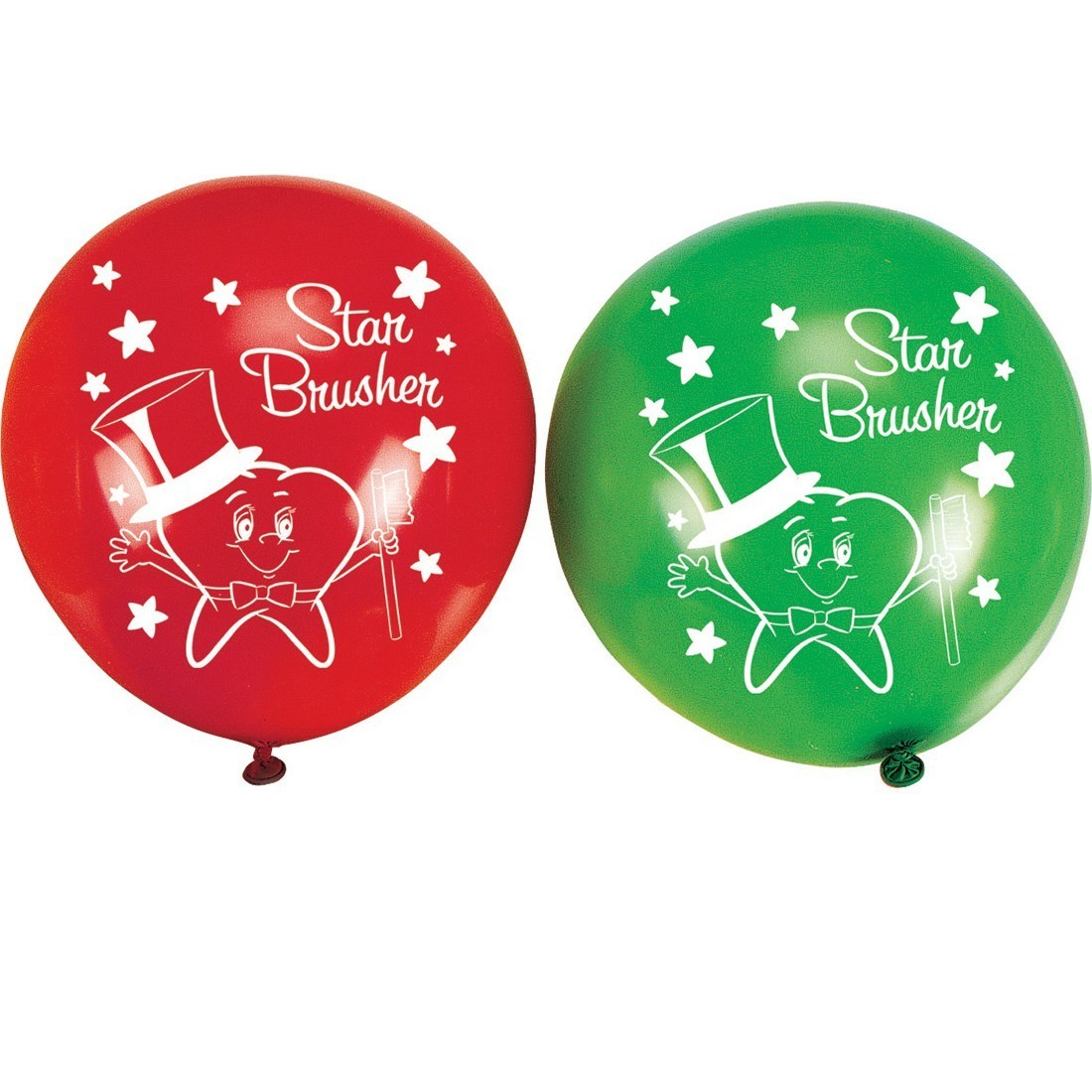 Star Brusher Latex Balloons [image]
