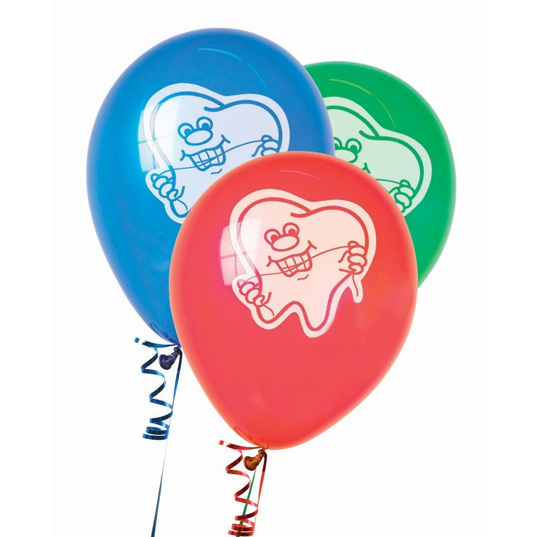 Tooth with Floss Latex Balloons [image]