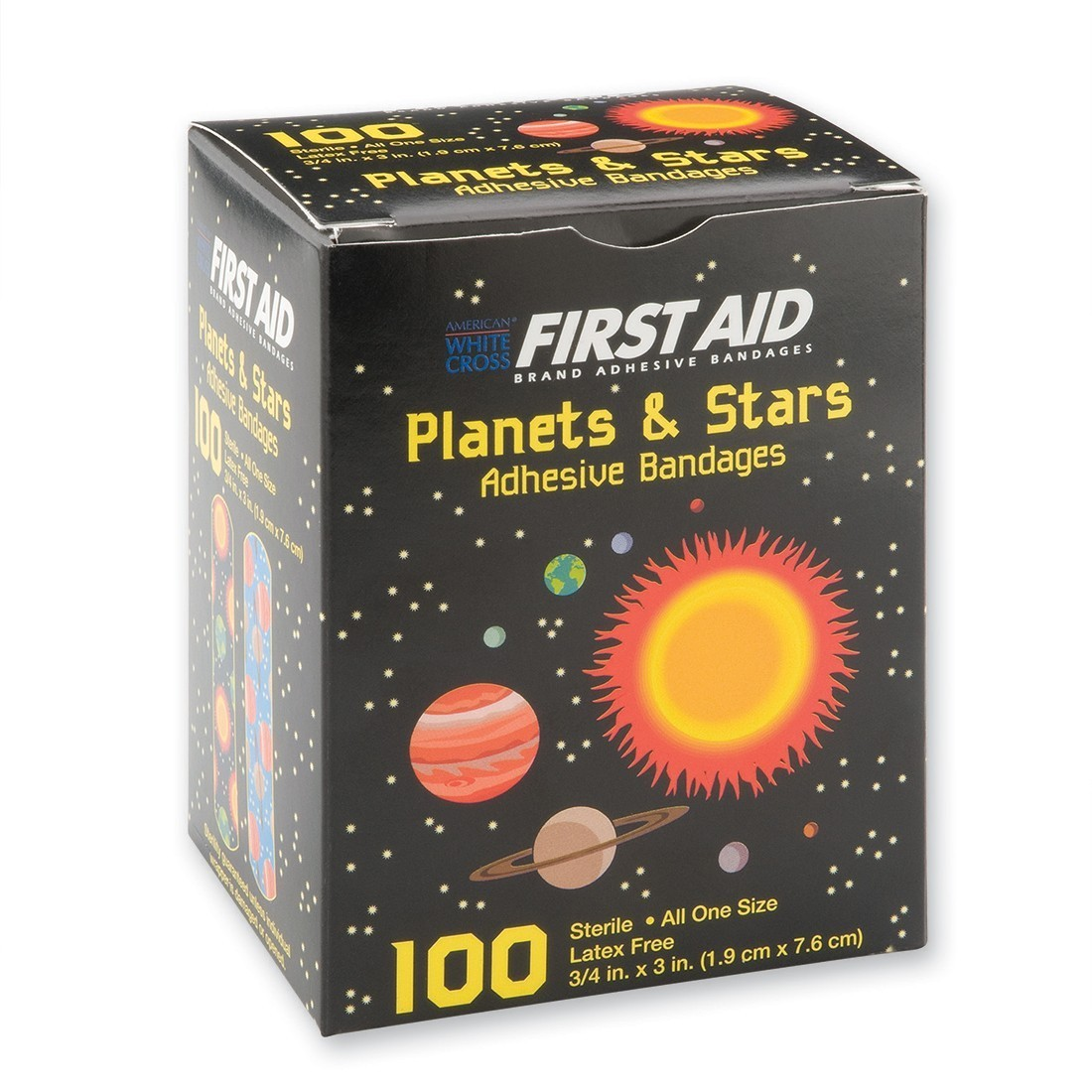 First Aid Case Planet and Stars Bandages [image]