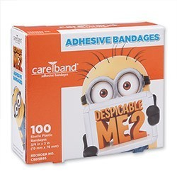Care Band™ Despicable Me 2 Bandages [image]