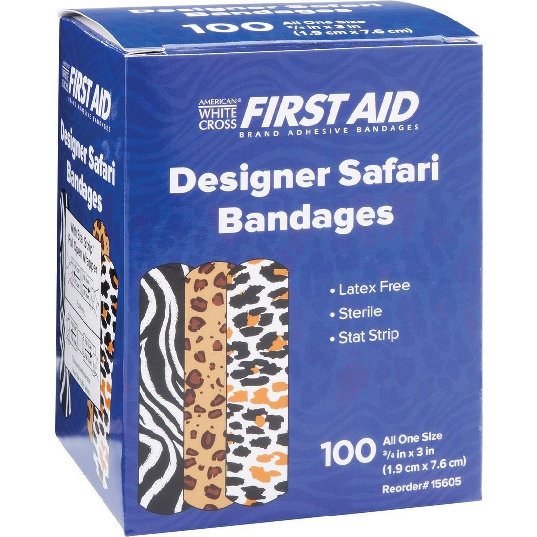 First Aid Safari Print Bandages [image]