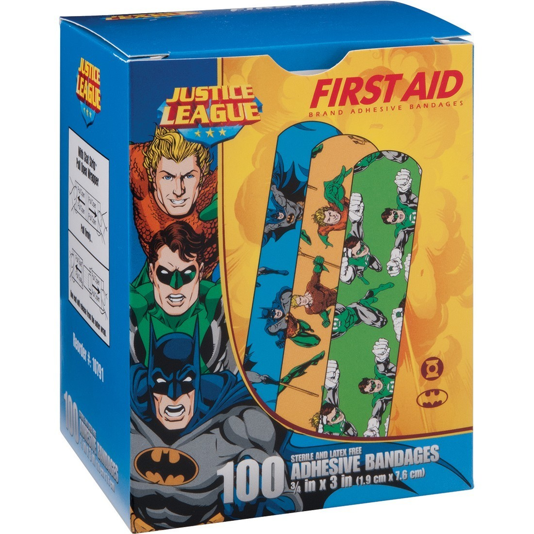 First Aid Batman, Aquaman, Green Lantern Bandages [image]